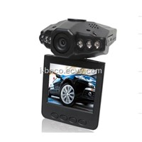 6ir led night vision car camera /2.5inch TFT LCD