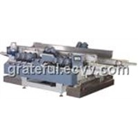 80mm Small-Glass-Sheet Double Edge Grinding Machine With High Precision and High Polishing