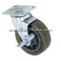 "8"" heavy duty pu wheel caster"