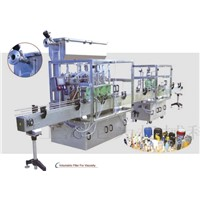 Auto filling production line
