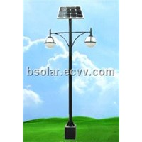BOMIN solar lamp post lights with LEDs for roadway illumination