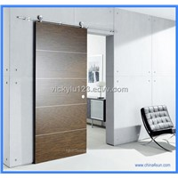 Barn door roller, sliding wood door, wooden door roller, wood door hardware.