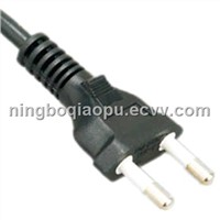 Brazil YHB-2 power cord|2 pins power cord|power cord with Brazil Standard