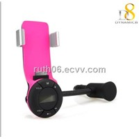 Car kit FM transmitter for iPhone