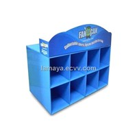 Cardboard Counter Displays ENCD047 Blue Cardboard Store Displays