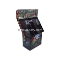 Corrugated Cardboard Display Black Decorative Display Boxes ENTD022