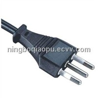 D08 Italian Pulg|IMQ 3 pins power cord|AC Power cord for Italy Markets|Italy IMQ Power Cord