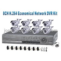 DVR Kit-8 Channel DVR with 8pcs IR Camera, 8pcs 18m BNC Cable