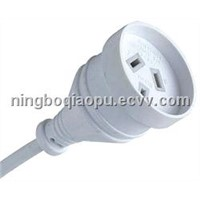 Extension cord|Extension Cord with SAA Standard|SAA power cable|Australia SAA plug cable
