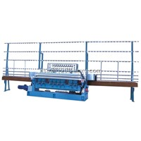 Fender glass beveling edging machine