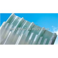 Fiber reinforce plastic daylighting sheet