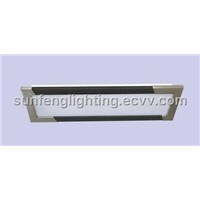 iron and plastic 2*PL55W/2*PL36W/4*PL36W Fluorescent Light Fixture