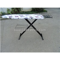 Fodlable mesh top  ironing board