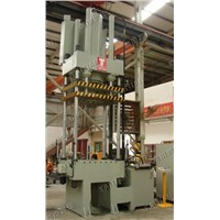 Four column deep drawing press