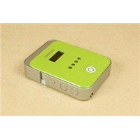 Green Iphone 4 Cradle Charger Emergency Battery Charger