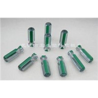 Green Plastic Transparent Screwdriver Handles,Chill-proof