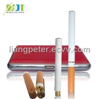 Green ecig with pink portable case