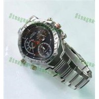 HD Hidden Waterproof Stainless Cover Spy Watch camera