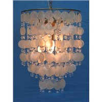 Hanging Shells Round Chandelier