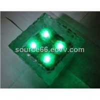 High solar brick light