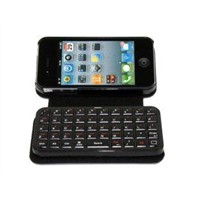 IPhone 4 Wireless Bluetooth Keyboard + Leather Case I4-059