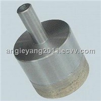 Straight Shank Glass Diamond Core Drill Bits