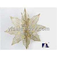 LEAF GLITTER Decoration