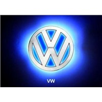 LED Car Emblem/Blue LED Car Rear Logo Light for VW