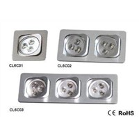 LED Ceiling Light For Type C square round-angle ceiling light