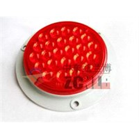 LED Truck Tail Lamp with Welding Flange Install Base, LED Trailer Turn Lamp, LED Trailer Stop Light