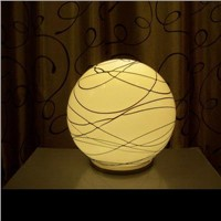 LED glass ball table lamp GB-10166-L