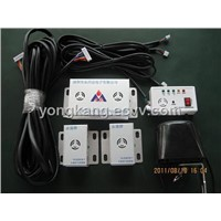 LPG&CNG Car Gas Alarm with two detector and one manipulator