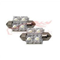 Led Festoon Bulb-f10-31-4flux/led car light