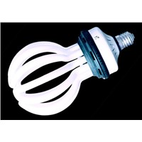 Lotus type energy saving lamp