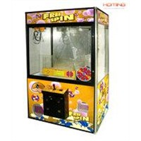 Lucky Wheel Crane Machine