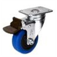 Medium duty TPR caster wheels