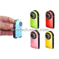 Mode Mini/Portable Camcorder/DVR/Camera with high definition video recording synchronization
