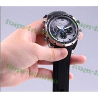 Newest HD 1080P Support Infrared & Night Vision Camera function Waterproof SPY Watch W5000