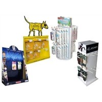 OEM POP Cardboard Displays Environmental Friendly