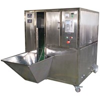 Onion peeling machine equipment