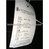Heat Resistant Tags for Steel Plate