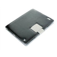 PU Leather Case Cover Stand for Apple iPad 2, ID2-01