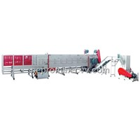Plastic Pipe Shredder Line  (750E, 1200E, 1500E)