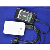 Portable power bank battery for IPAD, IPHONE