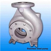Provide Stainless Steel Precision Casting Pump Body / Pump Casing