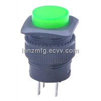 Push button switch with AC LAMP and DC bulb,