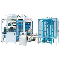 QYT10-15 hollow block making production line