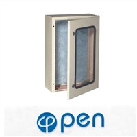 STP plexiglass door