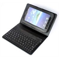 Samsung galaxy accessories of PU leather Bluetooth keyboard case with kickstand SK-1A