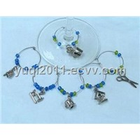 Sewing machine Series glass charm